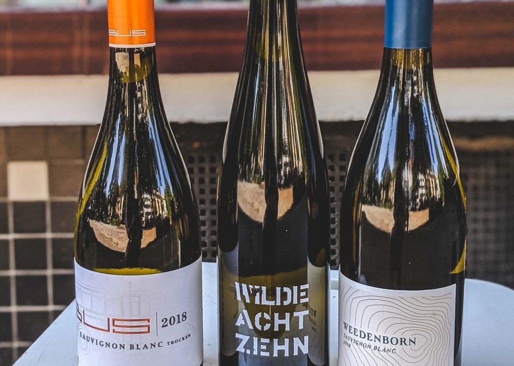 Wein-Port Sauvignon Blanc Tag des Offenen Weins