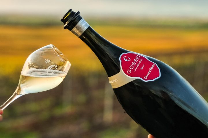 Besuch bei Gosset Champagner in der Champagne