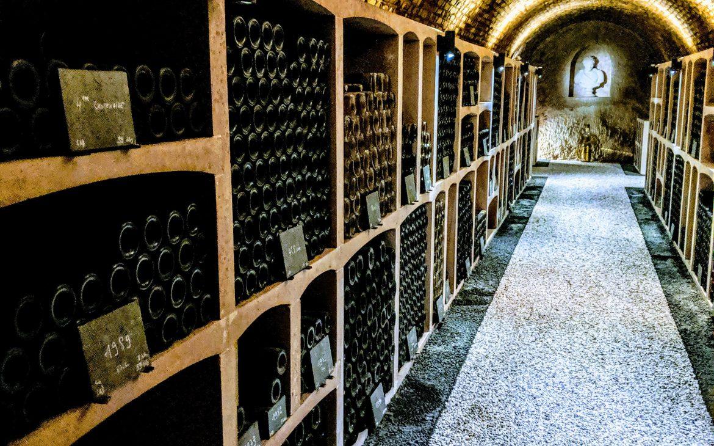Im Keller von Gosset Champagner in Epernay