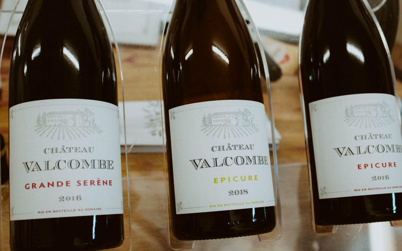Wein Tasting Château Valcombe