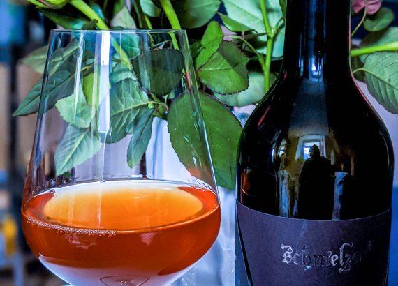schlicht und ergreifend Frühroter Veltliner von Schmelzer Orangewein
